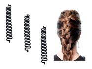 Homeoculture Fashion French Hair Styling Clip | Stick Bun Maker Braid Tool Hair Accessories Twist Plait Hair (Pack Of 3)
