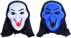 PTCMART Halloween Smile Look Theme Party Mask for Fun Party Mask(Multicolor, Pack of 2)