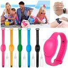 Homeoculture Hand Sanitizer Adjustable Wristband Sanitizer | Refillable Silicone Wristband for Hand Sanitizer (Pack of 6) (Multicolor)