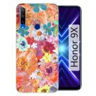 AGGARMENTS Honor 9X Hard Plastic 3D Printed for Stylish Designer Printed Back Cover for Girls & Boys