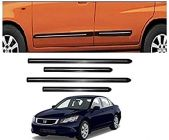 After Cars Honda Accord Old Car Black Side Beading with Chrome Line Set of 4