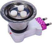 Sen Stainless Steel Electric Kapoor Dani Plastic Incense Holder (Pack of 1)