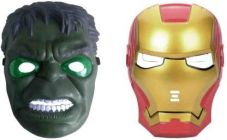 PTCMART Iron man And Hulk Shape Face Mask For Kids Party Mask(Pack of 2)