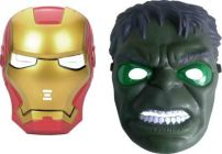 PTCMART Ironman And Hulk Shape Design Face Mask For Party And Play Role Party Mask(Pack of 2)