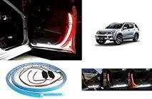 After Cars Isuzu Max Door Warning Car Strip Light 144 LED Interior Lights (Red, White)(Set of 2)