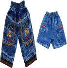 SHAURYA INNOVATION Regular Fit Denim Printed Jeans For Boy's (Blue) (Pack of 2)