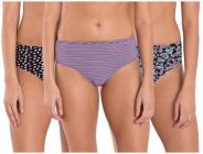 JOCKEY Cotton Printed High-Rise Hipster Panty For Women & Girls (Pack of 3)