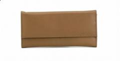 ASPENLEATHER Designer Leather Jewellery Bag For Women (Brown)