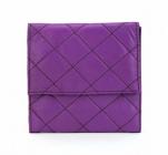 ASPENLEATHER Designer Genuine Leather Jewellery Bag For Women (Purple)