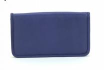 ASPENLEATHER Designer Leather Genuine Jewellery Bag For Women (Blue)