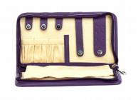 ASPENLEATHER Designer Genuine Leather Jewellery Bag For Women