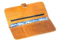 Khawaish Collection Traditional Leather Women Wallets, Multi-Function Clutch Purse, Cards Holder