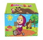 RSTrading Kismis Tent House For Unisex Kids Masha & The Bear