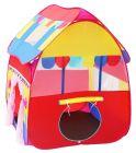 RSTrading Kismis Foldable Pop Up Hut Type Kids Toy Play Tent House - Multi Colour