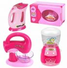 Pretend Play, Home Appliances Kitchen Play Sets Toys For Kids (Pack Of 4)