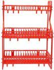 RFL Dish Drainer Kitchen Rack  (Aluminium, Plastic)