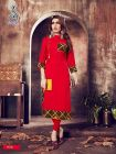 Sunsim Fashion Comfortable and Regular Rayon Solid 3/4th Sleeve Casual Kurti For Womens (Pack of 1)