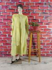 WACA Trending, Stylish & Fashionable Creamsicle 100% Cotton Full Sleeves Pre-stitched Anarkali With Chikankari Embroidery (Pack Of 1) | (Color: Lemon Yellow)