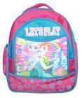 BAGO Let's Play Frozen School Bag For Girl's & Kid's (Multi-Color) (Pack of 1)
