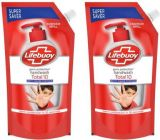 LIFEBUOY Total 10 Activ Naturol Germ Protection Handwash Refill Hand Wash Pouch (BUY 1 GET 1 Free) (750 ml Each)