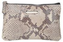 ASPENLEATHER Wristlet Bag for Women (Silver)