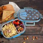 Rectangle BPA Free Stainless Steel Insulation Kids Lunch Box For School