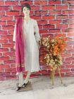 WACA Stylish & Trendy Bhagalpuri Silk Cloth Dupatta with Chikankari Work with a Zari Border for Women's (Pack of 1) | (Color: Magenta)