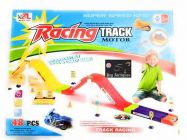 Magical Bikes Flying Through Tracks Racer With Rotating (Pack Of 1 Set)
