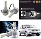 After Cars Mahindra Logan C6 LED HID Light 72w Car Headlight Conversion Kit 8k (White)