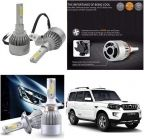 After Cars Mahindra Scorpio C6 LED HID Light 72w Car Headlight Conversion Kit 8k (White)