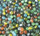 Nain Marble Glass Balls For Playing Games/Kanche (Multi-Color) (Pack of 100)