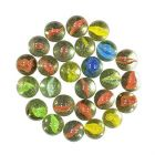 Nain Decorative Glass Marble Balls For Playing Games/Kanche (Multi-Color)