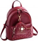 Zoya Collection New Arrivals, Stylish Design Waterproof Small Backpack for girls (Maroon | 5 L)