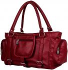 Hotway Trendy Looking, Stylish Design & Robust Build Quality Hand-held Bag For Women (Maroon)
