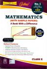 Mathematics (With Sample Papers) A Book With A Difference – Class X