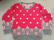 FASHION Full Sleeves Softfeel Acrylic Baby Kids Sweaters (Pack of 1) (Pink)