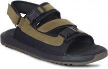 Synthetic, Self Design Top Grain, Velcro Closure Airmix Sole Casual Sandal For Men (Color-Olive)