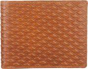 Men Brown Genuine Leather RFID Wallet  (3 Card Slots)