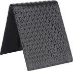Men Black Genuine Leather RFID Wallet  (3 Card Slots)
