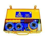 Metro Ratchet Pipe Threader Die Set 1 1/4, 1 1/2, 2 32MM / 38MM / 50MM in Metal Tin Box (Pack of 1)