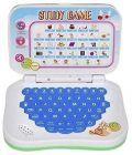 Mini Laptop With Sounds For Kids Fun With Learn English Learner Study Game (Pack Of 1)