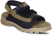 Self Design, Velcro Closure, Top Grain, Airmix Sole, Synthetic, Casual Sandal For Men (Color-Olive)