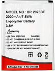 High-Quality Rechargeable Mobile Battery Compatible For Aqua Star 2/M6 (Pack of 1)