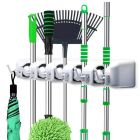 Layer Multipurpose Wall Mounted Organizer Mop and Broom Holder
