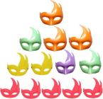 PTCMART Multi Duck Eyes Mask For occasion, function, Disco & Group Dance Mask Party Mask(Multicolor, Pack of 13)