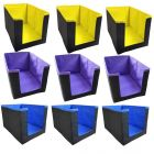 Unicrafts Shirt Stacker Wardrobe Organizer For Clothing Organizer Cloth Cover Large Capacity Space Saver Closet Almirah Organizer (Pack of 9)