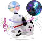 Dancing Dog with Music, Flashing Lights Battery Operated for Kids (Pack of 1)
