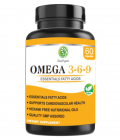 SnapOrganic Omega 3-6-9 Softgel (60 Capsules)