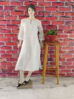 WACA Stylish & Modish Regular Fit Full Sleeves 100% Cotton Kurti Chikankari Embroidery for Women's (Pack of 1) | (Color: White)