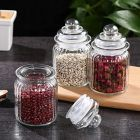 CYALERVA Air Tight Pop Jar Set With Lid For Kitchen (350 ml)